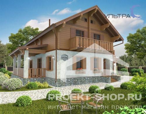 Типовой проект жилого домаU2