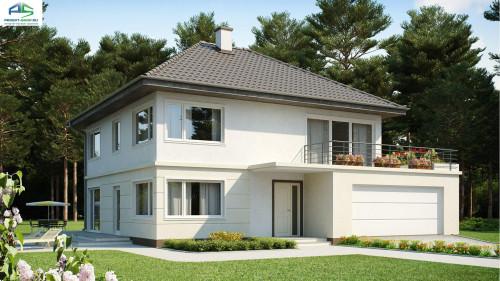 Типовой проект жилого дома zx10 + проект бани в ПОДАРОК! - Скидка -32%