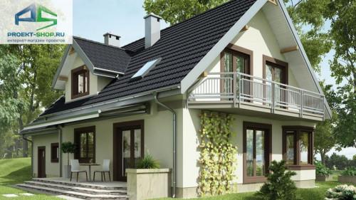 Типовой проект жилого дома.  Туркус