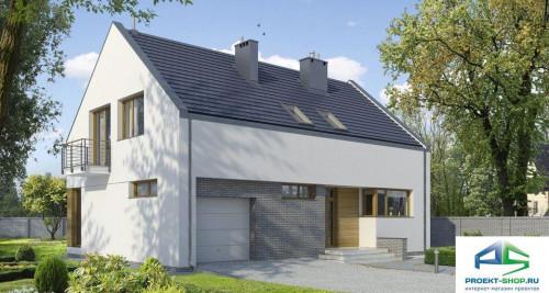 Типовой проект жилого дома E101