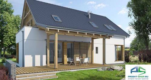 Типовой проект жилого дома E103