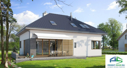 Типовой проект жилого дома E105