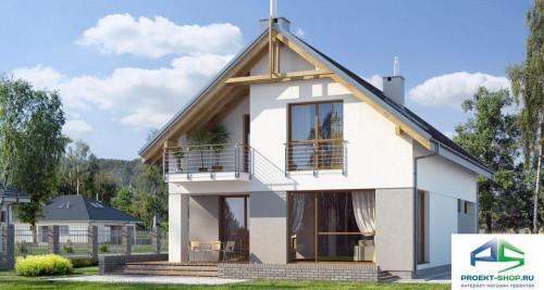 Типовой проект жилого дома E107