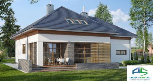 Типовой проект жилого дома E108