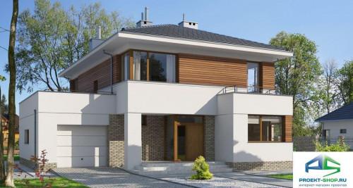 Типовой проект жилого дома E110