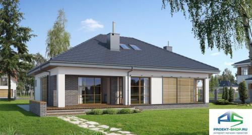 Типовой проект жилого дома E112