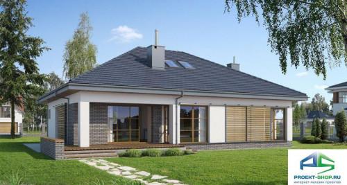 Типовой проект жилого дома E114