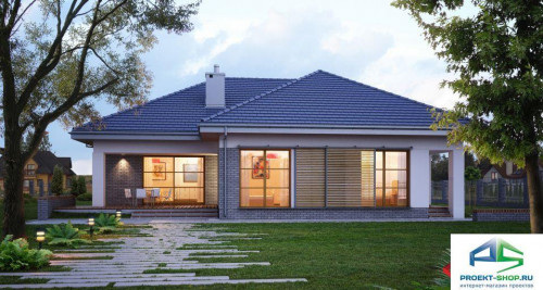 Типовой проект жилого дома E116