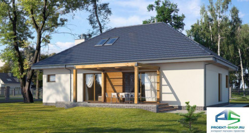 Типовой проект жилого дома E117