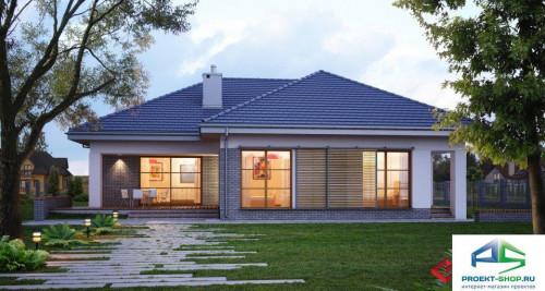 Типовой проект жилого дома E118