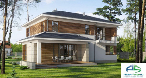 Типовой проект жилого дома E122