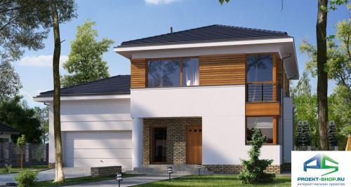Типовой проект жилого дома E125
