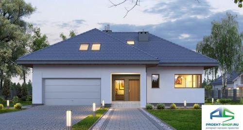 Типовой проект жилого дома E128