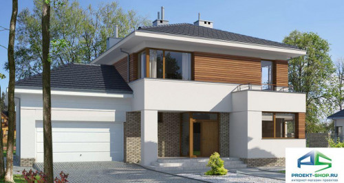 Типовой проект жилого дома E130