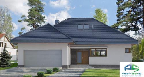 Типовой проект жилого дома E134