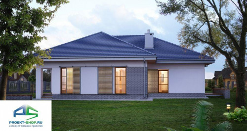 Типовой проект жилого дома E135