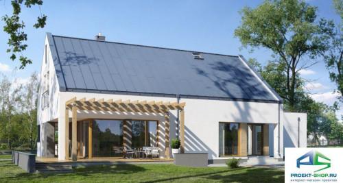 Типовой проект жилого дома E136