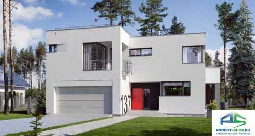 Типовой проект жилого дома E137