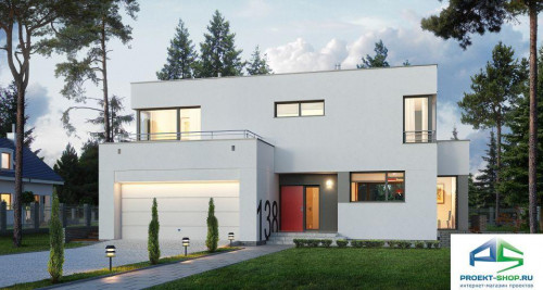 Типовой проект жилого дома E138