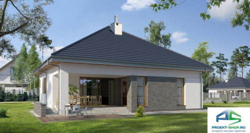 Типовой проект жилого дома E140
