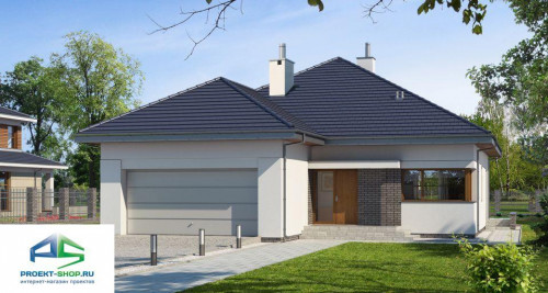 Типовой проект жилого дома E141