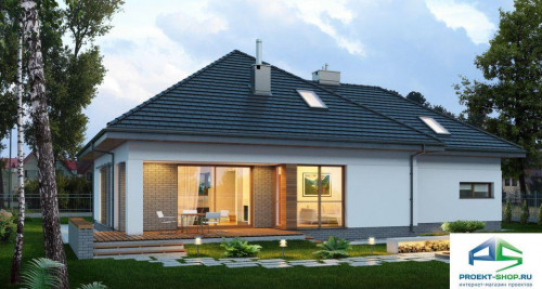 Типовой проект жилого дома E142