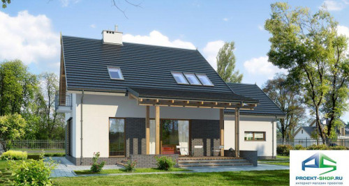 Типовой проект жилого дома E145