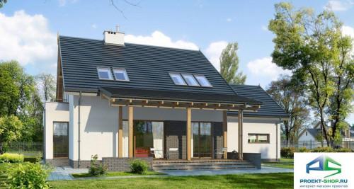 Типовой проект жилого дома E147