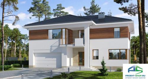 Типовой проект жилого дома E148