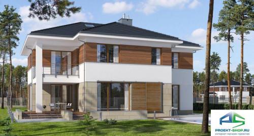 Типовой проект жилого дома E149