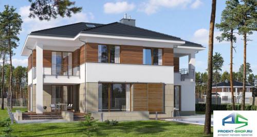 Типовой проект жилого дома E150