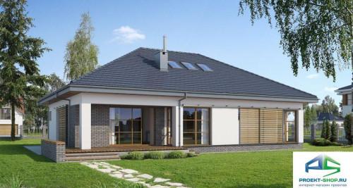 Типовой проект жилого дома E151