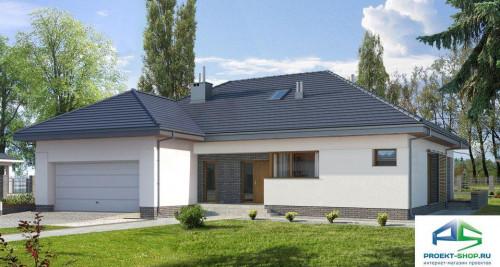 Типовой проект жилого дома E152