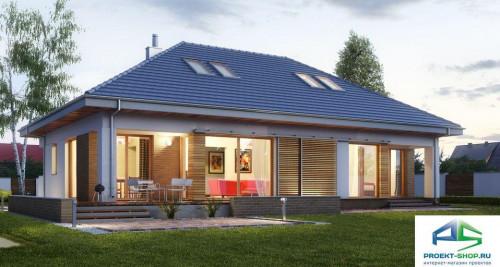 Типовой проект жилого дома E154