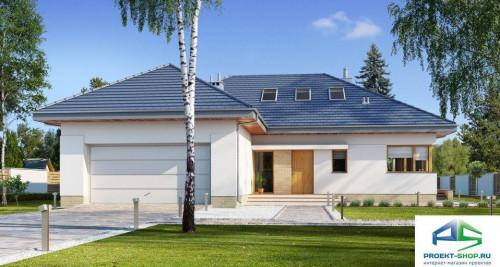 Типовой проект жилого дома E155