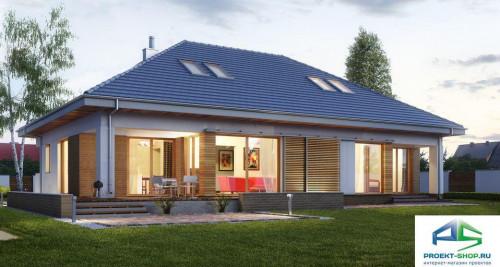 Типовой проект жилого дома E156