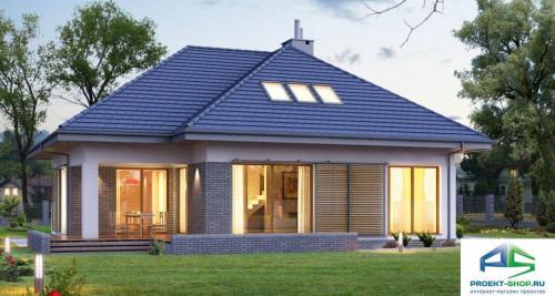 Типовой проект жилого дома E158