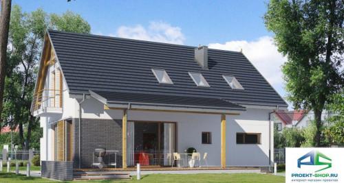 Типовой проект жилого дома E159