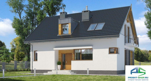 Типовой проект жилого дома E160