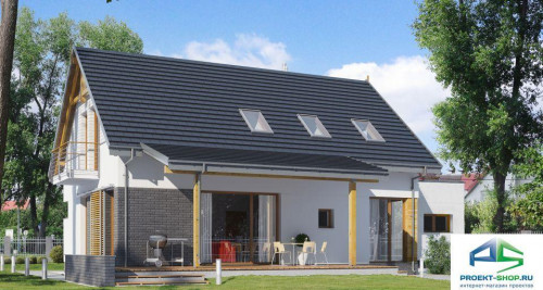 Типовой проект жилого дома E161