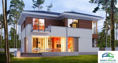 Типовой проект жилого дома E162