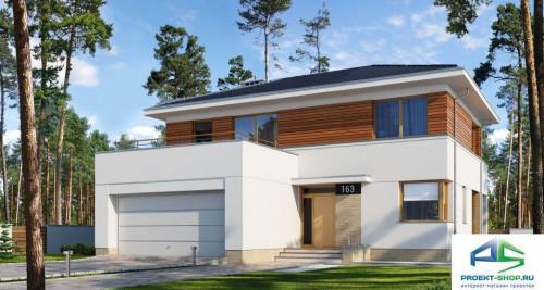 Типовой проект жилого дома E163