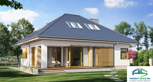 Типовой проект жилого дома E164