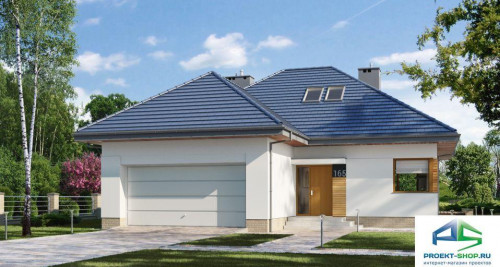 Типовой проект жилого дома E165