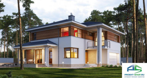 Типовой проект жилого дома E166