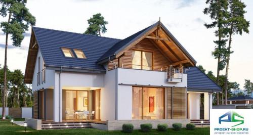Типовой проект жилого дома E167