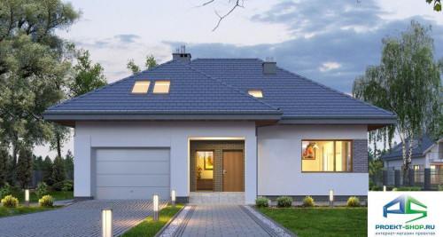 Типовой проект жилого дома E168