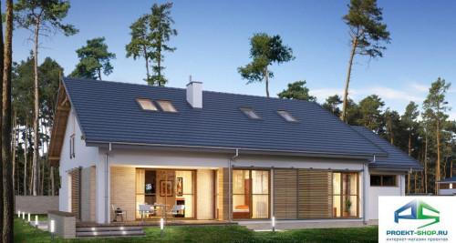 Типовой проект жилого дома E170
