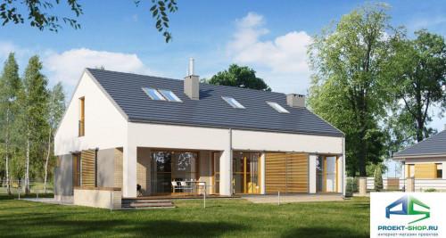 Типовой проект жилого дома E171