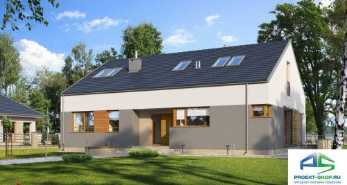 Типовой проект жилого дома E172